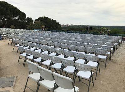 Alquiler de sillas de exterior Grupofriends