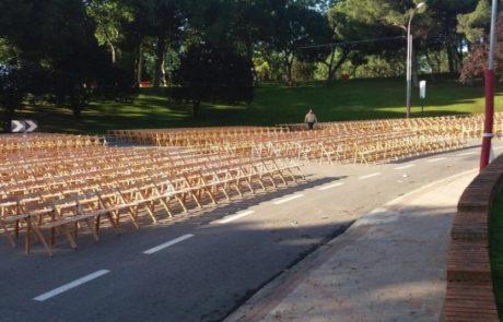 Aquiler de sillas de exterior Grupofriends