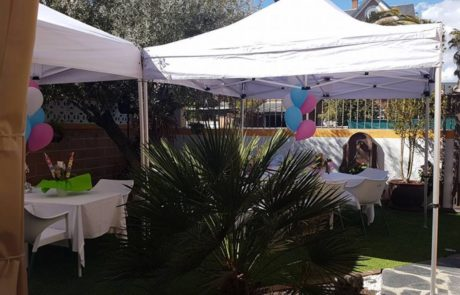 Carpa 3x3 extensible Grupofriends